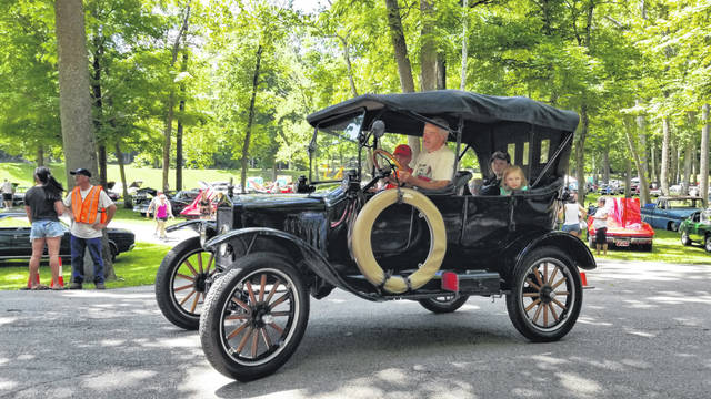 Model T rides will be given during the Anthony McLain Bicentennial Cruise-In, June 29 at Tawawa Park.