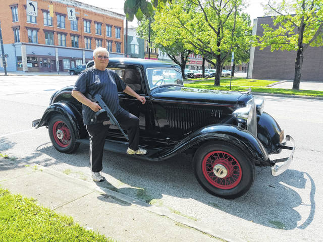 When Keith McLain is asked the question on whether he thought his car looked like one used by Bonnie and Clyde, he always has an answer. He'll pull a wooden gun from the trunk of the car. McLain will be showing the vehicle on June 29, 2019, at Tawawa Park.