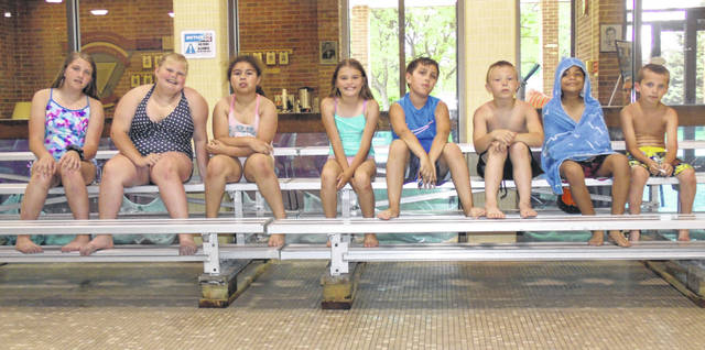 "Pictured is the YMCA ""Bigs"" child development center summer camp's 33rd annual Water Safety Week class at Sidney-Shelby County YMCA swimming pool Friday, May 31. Bigs is comprised of children in third- through sixth-grade."