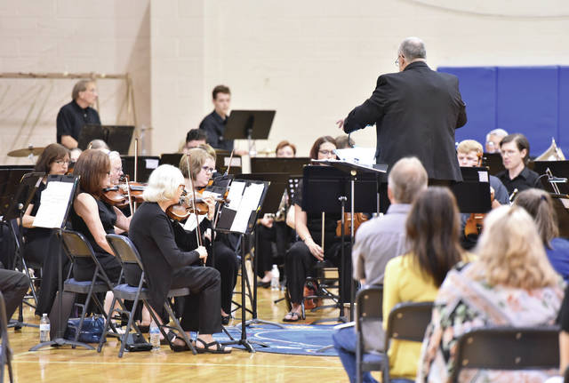 Christian Academy Schools hosted a Community Orchestra directed by John Streb Sunday, June 10, at the school. The orchestra is composed of student and adult musicians.
