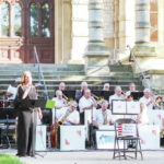 Sidney Civic Band performs