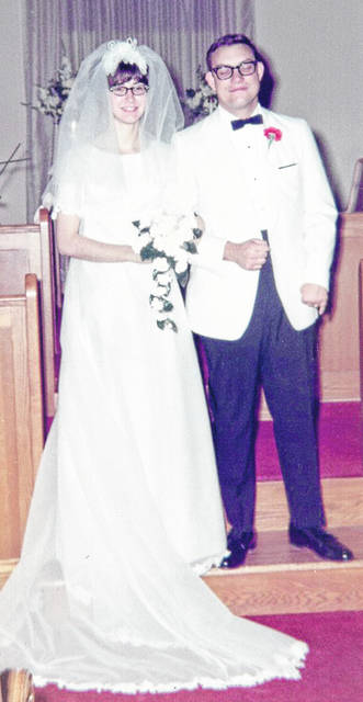 Doug and Linda Short on their wedding day, June 14, 1969.