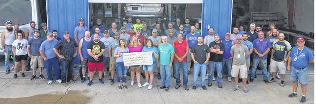Airstream employees recently participated in a charity change drive during the month of May, and the motorized division raised more than $650. Airstream will match the proceeds for a total of $1,455.16. The department chose to raise money for St. Jude's Children's Hospital.