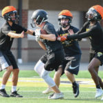 Football: Sidney wraps up summer practice with 7-on-7, linemen challenge