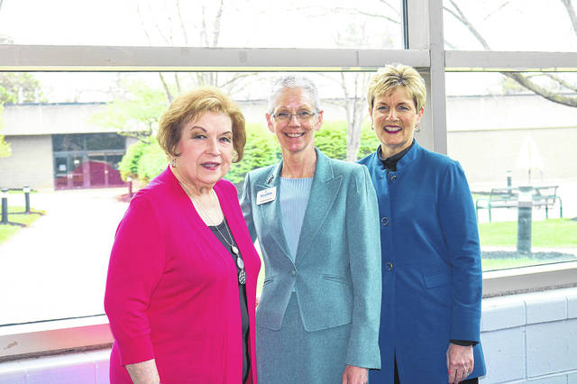 Edison State Board of Trustees Vice Chair Marvella Fletcher, left to right, Edison State President Dr. Doreen Larson, and Edison State Board of Trustees Chair Tami Baird Ganley are the first women to serve at the same time in Edison State Community College's history.