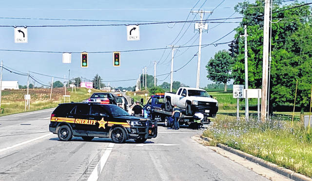 Shelby County Sheriff's Office deputies are investigating a two-vehicle crash at the intersection of Kuther Road and state Route 47 Wednesday, July 10 at 7:53 a.m. Sidney Fire Department also responded to the scene.