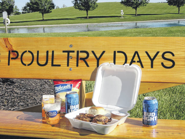 Poultry Days is serving its chicken dinners outside of the festival for the first time as part of Versailles' bicentennial celebration.