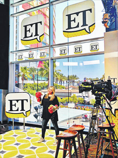 """Erin Johnson has won two Daytime Emmys for her work on """"Entertainment Tonight,"""" which has included overseeing ET's daily production, spearheading the show's coverage of Prince Harry and Meghan Markle's wedding from London, expanding ET's Comic-Con presence to multiple platforms and producing exclusive celebrity interviews from around the world."""