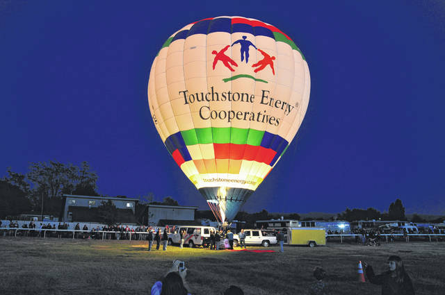 The Apollo 11 Balloon Rally will be held Friday and Saturday at Auglazie County Fairgrounds in Wapakoneta. Balloon launches in honor of the 50th anniversary of the Apollo 11 moon mission will be at 6:30 p.m. Friday and Saturday with an evening glow at 8:45 p.m. both nights. A morning launch will take place at 7 a.m. Saturday.