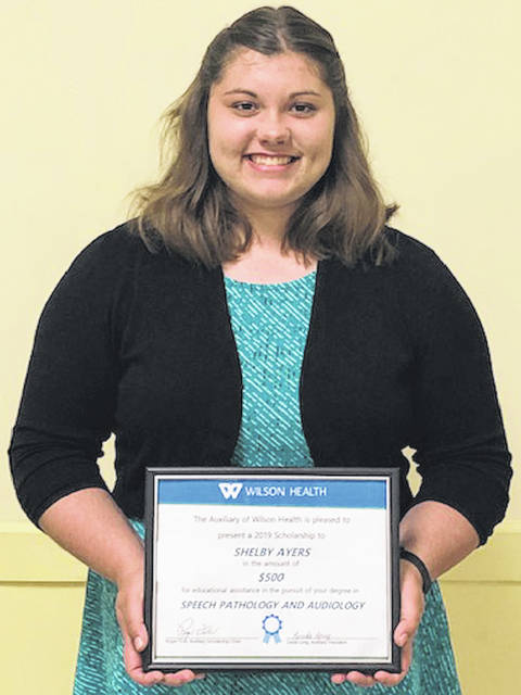 Shelby Ayers, of Houston High School, plans to attend Miami University with a major of speech pathology and audiology.