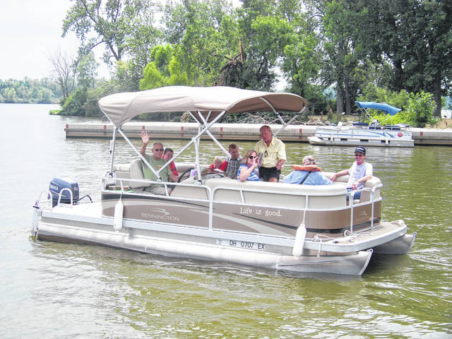 The Lake Loramie Heritage Museum will sponsor the Eighth Annual Free Pontoon Boat Rides on Saturday, Aug. 10, 2019, from 1 to 4 p.m. at Lake Loramie.