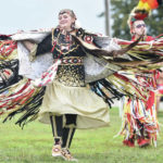 Powwow filled with color and dance