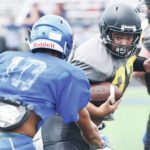 Football: Some positives for Sidney at quad scrimmage, but work remains