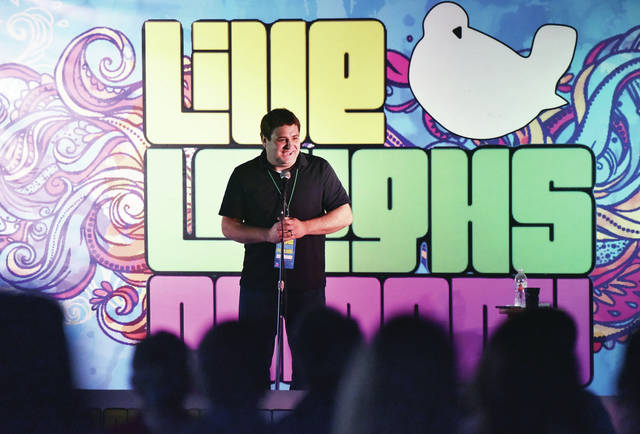 Andy Beningo headlines the Live Laughs Comedy festival at the Shelby County Fairgrounds on Friday, Aug. 23. The festival continues Saturday, Aug. 24 with the first stand-up comedy act starting at 2 p.m. and the last act starting at 8:40 p.m.. On Sunday, Aug. 25 the first act starts at 2 p.m. and the last act starts at 7 p.m.. There are 10 food trucks to keep visitors well fed. The three headliners on Saturday will start with Rob Wilfong at 8 p.m. followed by Charlie Walker at 8:20 p.m. and ending with Wendi Furguson at 8:40 p.m.. Travis Charles will headline on Sunday at 7 p.m..