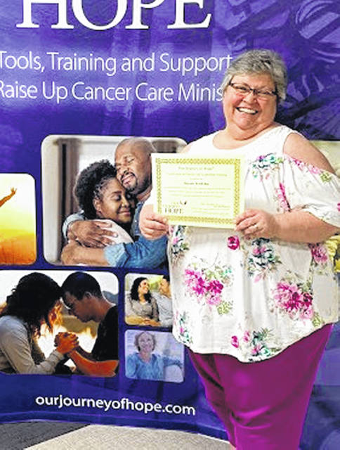 Susan Jenkins, pastoral minister at the Shrine, recently completed training and is now a certified Our Journey of Hope instructor.