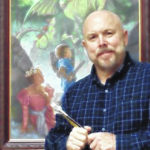 Artist Tim Bowers appearing at the Troy-Hayner Cultural Center