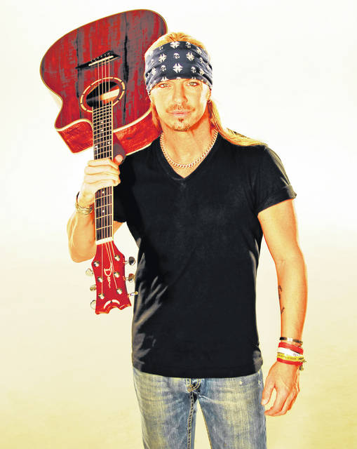 Rock singer Bret Michaels will bring his Unbroken World Tour to Troy's Hobart Arena Sept. 14.