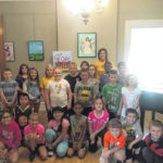 Third-grade students visit Bad Art By Good People exhibit