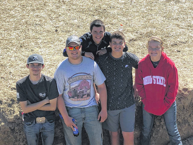 The Riverside FFA agriculture soils team members are Alex Cruz, Brendan Duff, Simon Godwin, Kaleb Schindwolf and Shelby Nicholl.