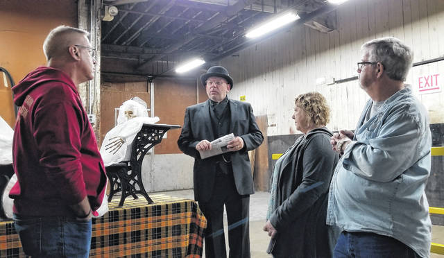 "The Sidney Historical Society will be holding ""Ghost Tours"" on Wednesday, Oct. 9and Thursday, Oct. 10."