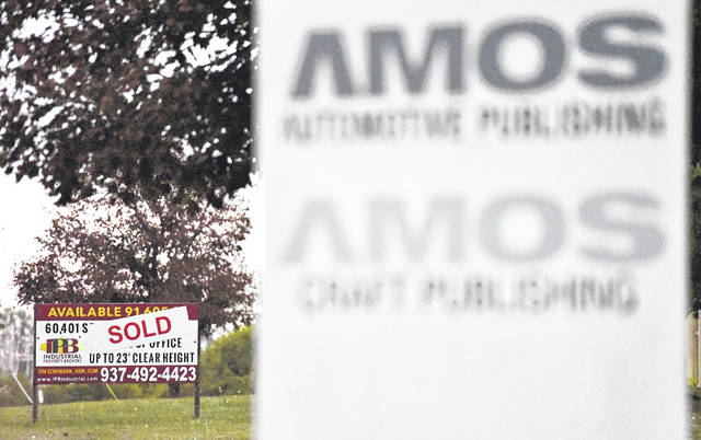 The Amos Media Co. building has been sold to Cargill, Inc. Amos Media will relocate to a new site in Sidney.