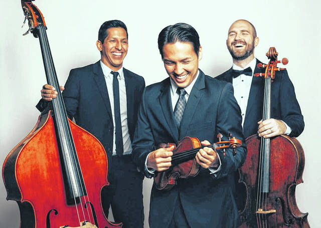 Simply Three, a classical crossover string trio, will be featured at the 22nd annual Holiday Evening at Edison State on Dec. 4.