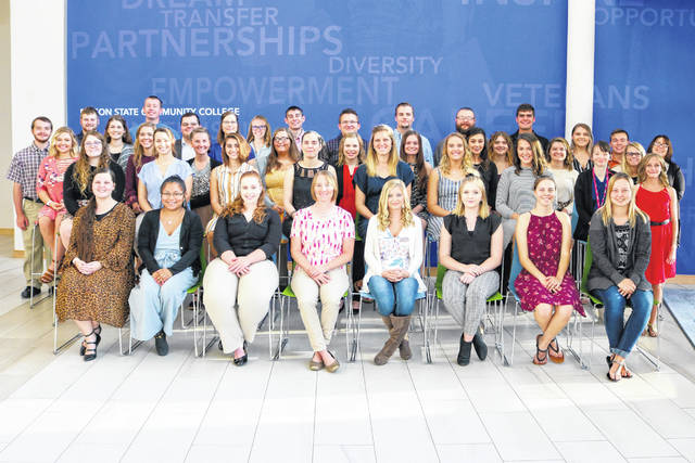 Edison State Community College recognized more than 140 students during the annual scholarship recognition dinner on Oct. 3 at the Piqua campus.