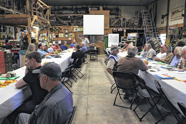 A night of worms, soil and food was enjoyed by local agriculture community at the Tom and Nancy Smith farm.