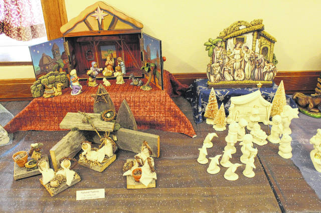 The Annual Nativity Exhibit will be held Dec. 1, 2019, through Jan. 7, 2020, at the Maria Stein Shrine of the Holy Relics.