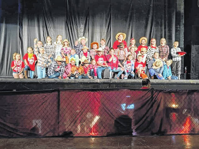 Summer Theatre Campers ages 9-13 perform 'Yee-Haw the Musical' on stage at the Historic Sidney Theatre.
