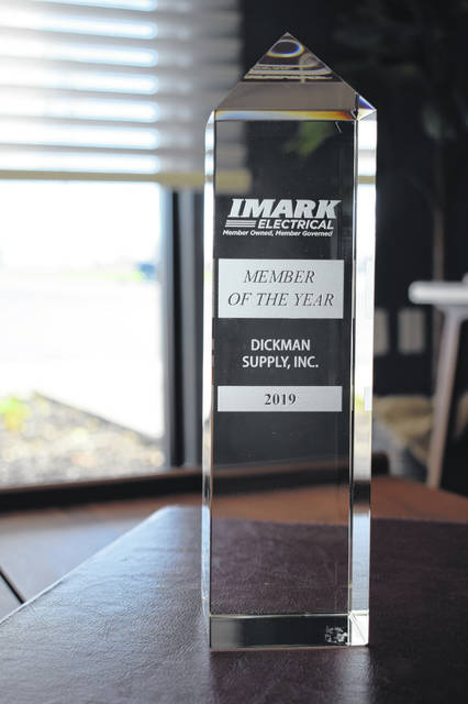 Dickman Supply was named IMARK's Member of the Year for 2018-19.