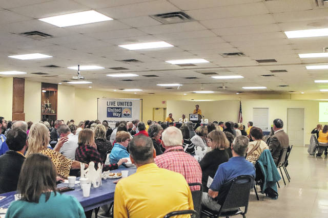 There was a full house at the 2019 United Way Campaign finale luncheon Thursday, Nov. 7, at the Sidney Veterans Center on Fourth Avenue.