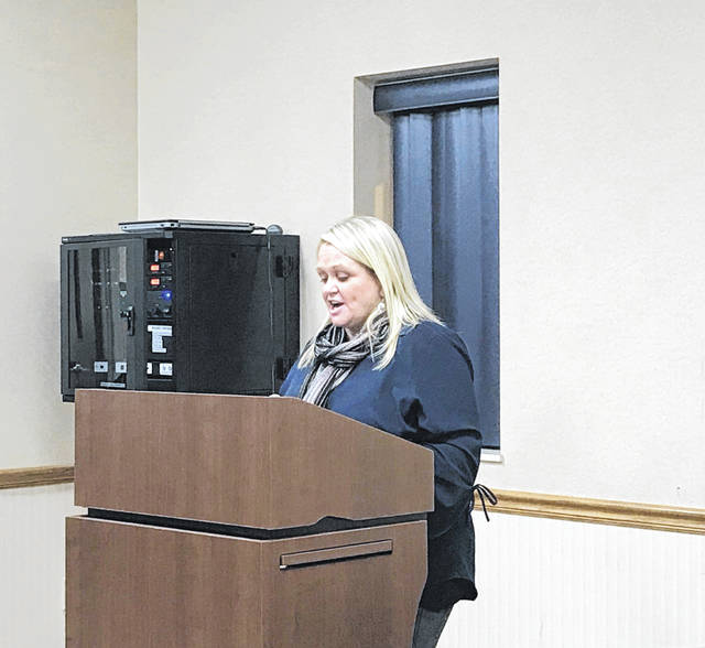 Kristi Burre, director of Ohio's Office of Child Welfare Transformation, heard from concerned foster parents, children's advocates and representatives from adoption agencies during a public listening session held in Wapakoneta. The Children's Services Transformation Advisory Council is gathering input for a forthcoming report on the state of children's services in Ohio.