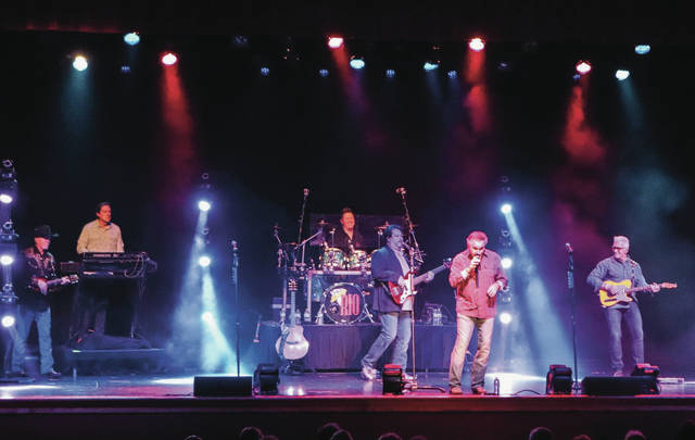 Diamond Rio performs at Sidney High School on Sunday, Nov. 10. The band was brought to Sidney by the Gateway Arts Council.