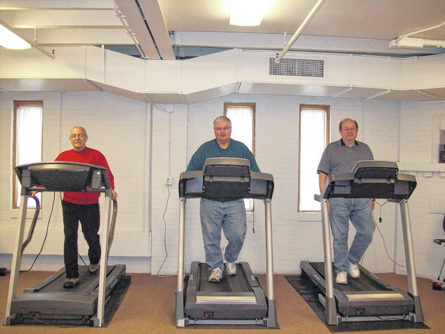 Members stay active with exercise and recreational programs at the Senior Center of Sidney-Shelby County. Match Day gifts will replace high-used equipment.