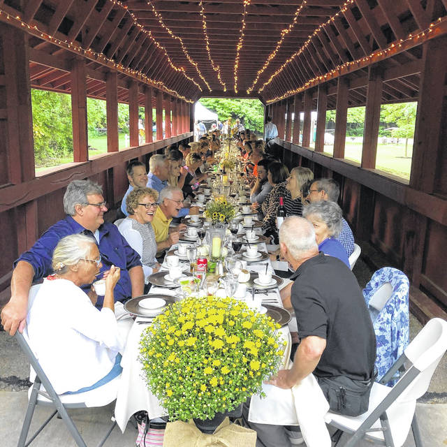 Sidney Alive's Open Air Dinner this summer on Ross Bridge in Tawawa Park is an example of the activities the group organizes to bring people into the downtown region.