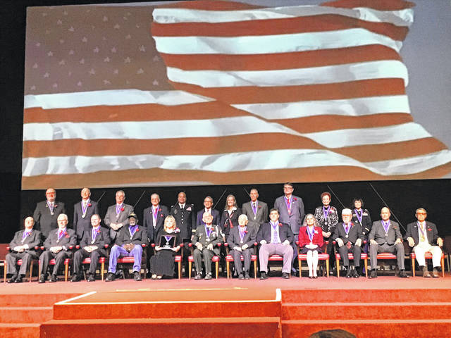 """Twenty veterans, including James """"Jim"""" Moorman, of Sidney, was elected into the Ohio Veterans Hall of Fame."""