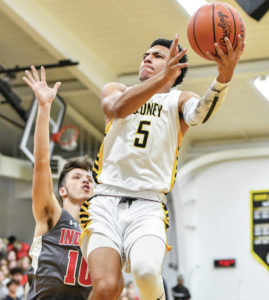 Boys basketball: Sidney stays undefeated with 60-56 win over Stebbins