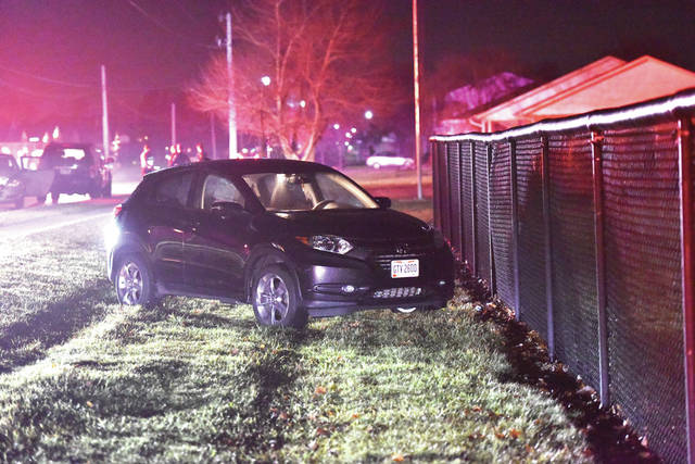 A man crashed his vehicle into a parked car on the 400 block of Greenback Road in Fort Loramie around 10:03 p.m.. The driver was taken to Wilson Health. The Fort Loramie Fire Department and the Shelby County Sheriff's Office responded to the scene. The Fort Loramie Police Department is investigating.