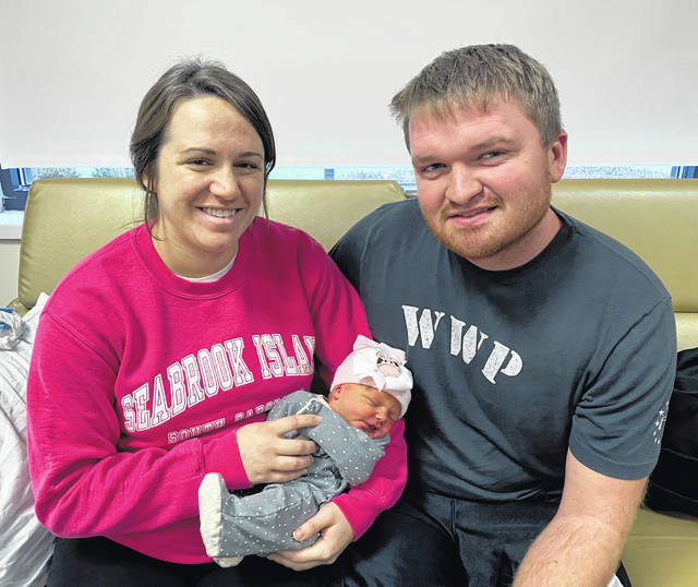 Parents Josie and Josh Hoying, of Anna, welcomed a Christmas Day baby at the Copeland-Emerson Family Birth Center at Wilson Health. Baby Jordyn Noel was born on Dec. 25, weighing 6 pounds and 12 ounces. To see Baby Hoying or any other baby born at Wilson Health,visit www.wilsonhealth.org and click on the Baby Photos link.