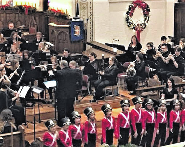 The Upper Valley Community Orchestra performs during its 2018 concert. This year's concerts will be held Sunday, Dec. 15, at 3 p.m. in St. John's Lutheran Church, 120 W. Water St., and Tuesday, Dec. 17, at 7 p.m. at the Sidney Historic Theater, 1208 W. Poplar St.