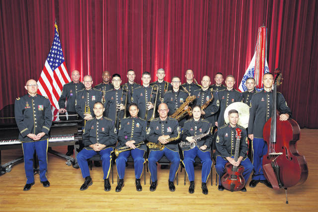The US Army Field Band Jazz Ambassadors will perform at the Historic Sidney Theatre on Friday, April 3, as part of Sidney's Bicentennial celebration.