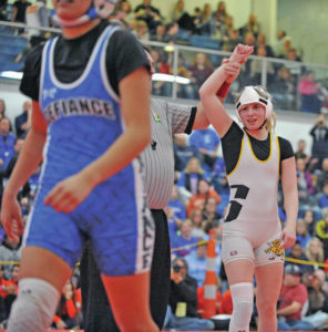Sidney wrestling: Yellow Jackets compete in 1st OHSWCA girls tourney, MVL tourney