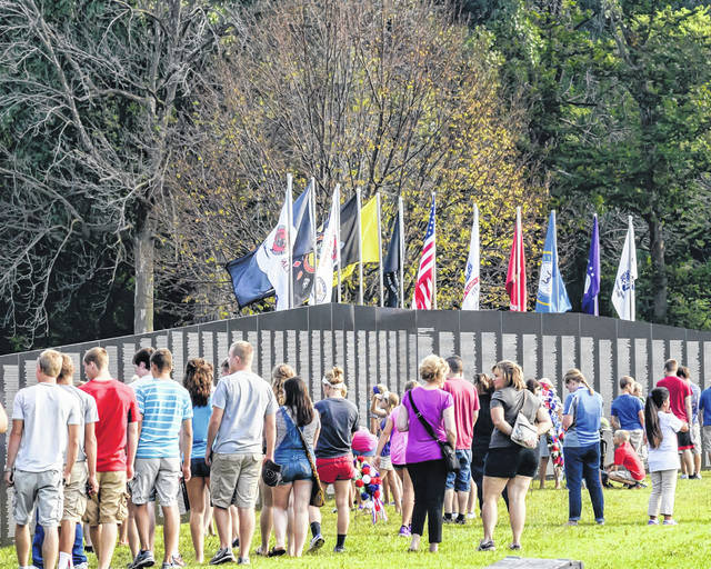 The AVTT-TWF Traveling Wall — which is a replica of the Vietnam War Memorial in Washington, D.C. will return to Custenborder Park in sidney from May 14-17.