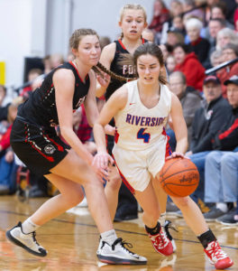 Girls basketball: Fort Loramie rolls over Riverside 66-6 in district semifinal