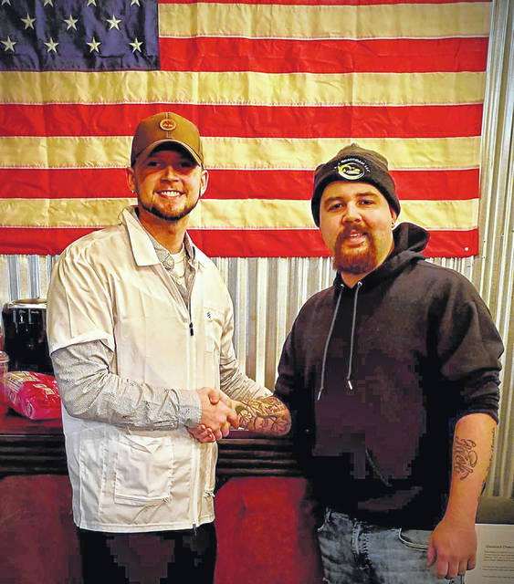 Jacob Cornett, left, and Devin Brautigam, both of Sidney, won first place in Dayton.com's Best of Dayton 2019 competition. JC's Barber Shop, owned by Cornett, won first place in the best barbershop category. From Above Aerial, owned by Brautigam, won first place in the best local photographer competition.