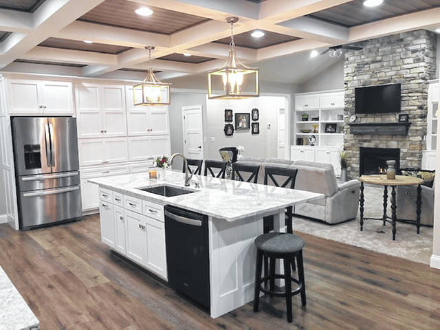 This is an interior shot of one of Middendorf Builders projects in 2019.