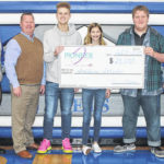 Pioneer Electric presents rebate check to Fairlawn