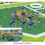 New playground designed for Russia School
