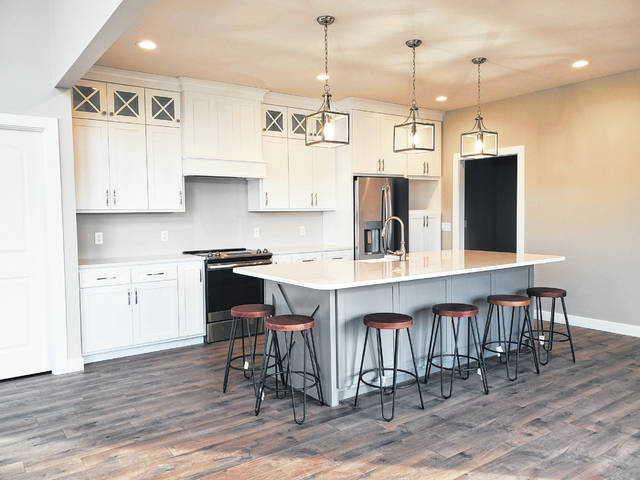 This is one of the kitchens which Hoying & Hoying Builders Inc. installed in one of the homes they built in 2019.
